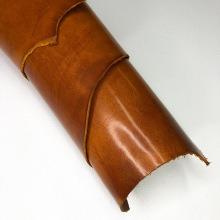 Кожа Detroy-ременной, коньяк, раст. дубл. 3.0+ мм
