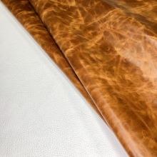 Кожа Друид, коричневый 430 С ВОСКОВОЙ ОТДЕЛКОЙ