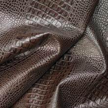 Кожа Кайман , темно-коричневый