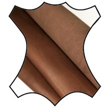 Кожа Краст, коричневый 1,3-1,5 мм