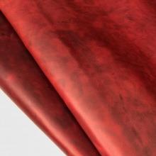 Кожа Крейзи хорс, красный 581