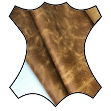 Кожа Крейзи хорс, светло-коричневый  YR