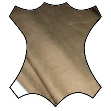 Кожа Крейзи хорс, светло-коричневый