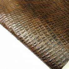 Кожа Крок-орех, коричневый