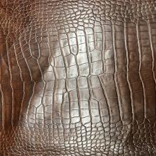 Кожа Крокодил, коричневый
