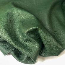 Кожа Лама, мебельная фактурная, зелёный