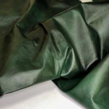 Кожа Мерид дабл-тон, мебельная фактурная, зелёный