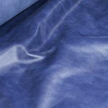 Кожа Наппа-крек, синий