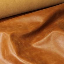 Кожа Наппа-крек, светло-коричневый