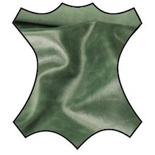 Кожа Наппа-крек, зеленый