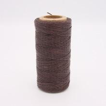 Кожа Нить плоская плетеная вощеная #303