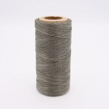 Кожа Нить плоская плетеная вощеная #511
