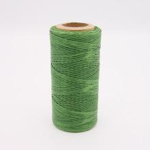 Кожа Нить плоская плетеная вощеная #у065
