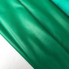 Кожа Овчина одежная, зеленый