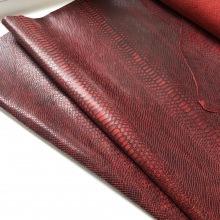 Кожа Питон, красный CH
