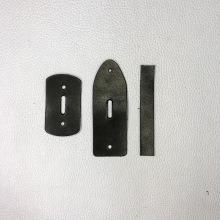 Кожа Подпряжник из кожи 40 мм, черный