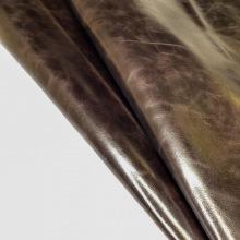 Кожа ПУЛЛ-АП, темно-коричневый С ВОСКОВОЙ ОТДЕЛКОЙ, ap