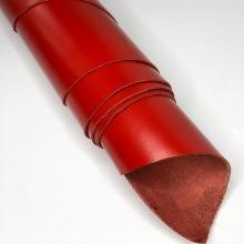 """Кожа """"Райд"""" с покрытием, красный"""