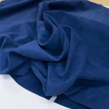 Кожа Спилок велюр (замша), синий