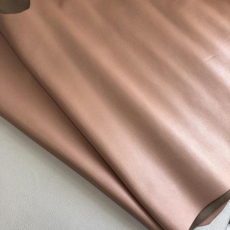 Кожа Флотер розовый перламутр