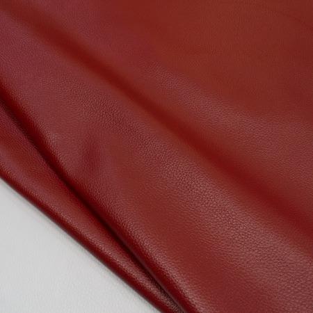 Кожа Флотер темно-красный