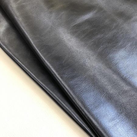Кожа Грейт металлик темно-синий