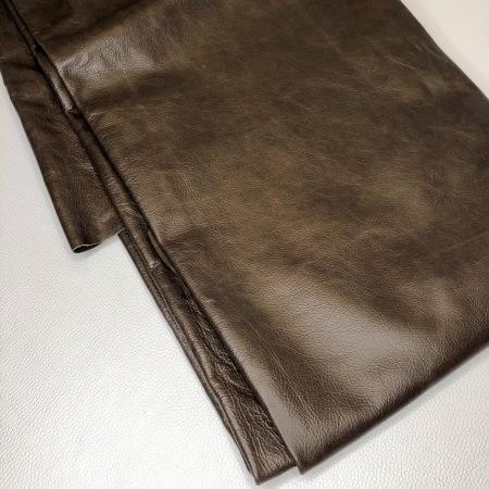 Кожа Канвас, мебельная гладкая, темно-коричневый