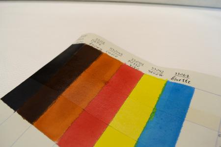 Кожа Краска итальянская, проникающая Yellow 33042