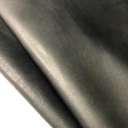 Кожа Краст, чёрный 1,2-1,4 мм