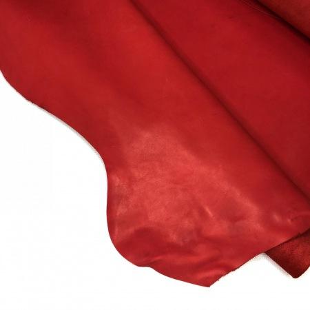 Кожа Краст красный