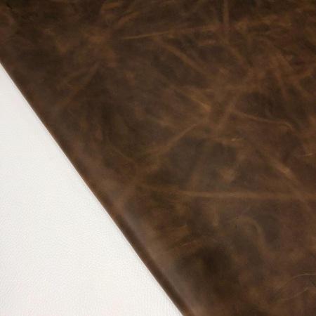 Кожа Крейзи хорс, темно-коричневый  YR