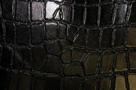 Кожа Крокодил 3, черный