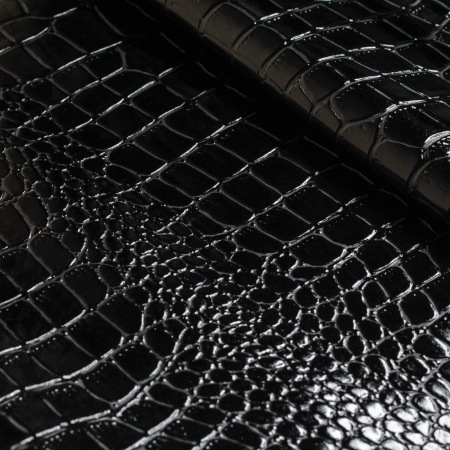 Кожа Крокодил 4, черный