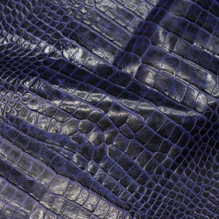 Кожа Крокодил, т. синий (laciv) CH