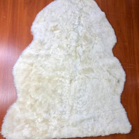 Кожа Мех интерьерный, белый