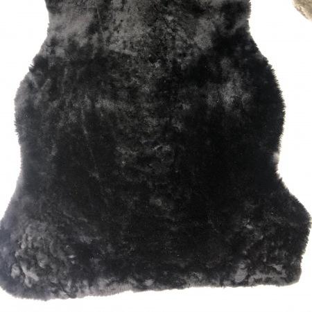 Кожа Мех интерьерный, черный