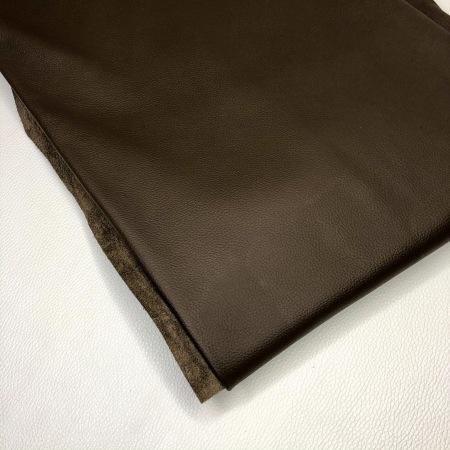 Кожа Монти, мебельная флотер матовый, темно-коричневый