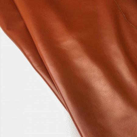 Кожа Неаполь, красно-коричневый