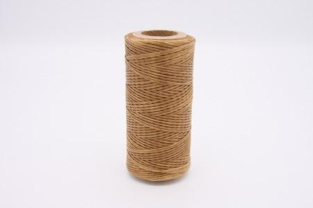 Кожа Нить плоская плетеная вощеная #296
