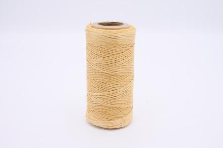 Кожа Нить плоская плетеная вощеная #358