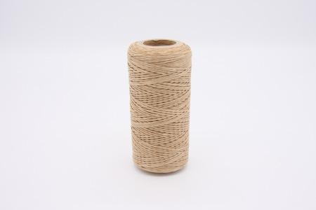 Кожа Нить плоская плетеная вощеная #у031