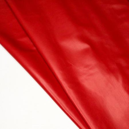 Кожа Овчина одежная, красный