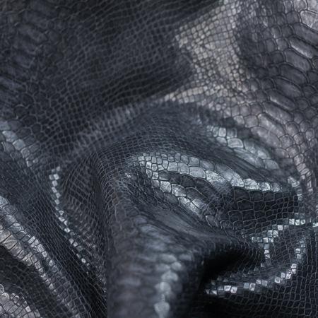 Кожа Питон, темно-синий (Lacv) CH