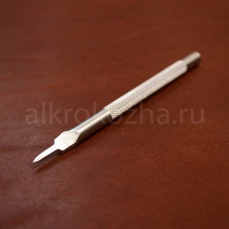 Кожа Пробойник ромбовидный 1 зуб, 5 мм.