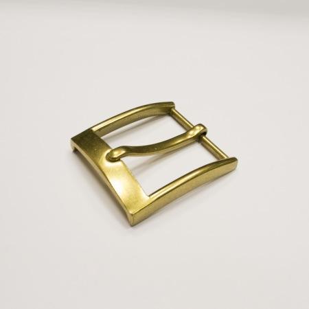 Кожа Ременная пряжка из латуни, 35 мм 017