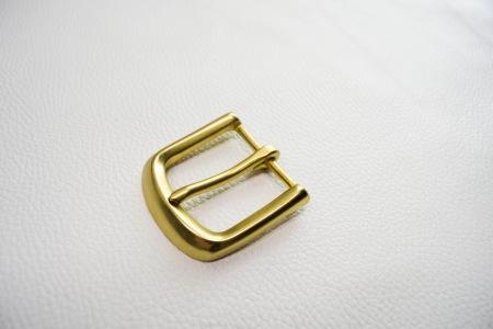 Кожа Ременная пряжка из латуни, 40 мм 004