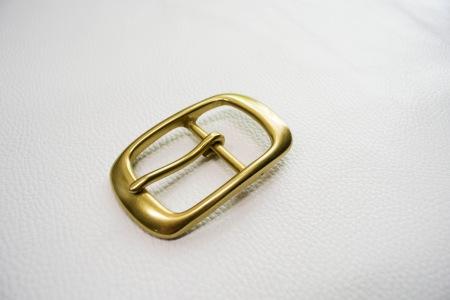 Кожа Ременная пряжка из латуни, 40 мм 006