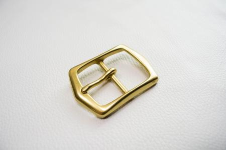 Кожа Ременная пряжка из латуни, 40 мм 010