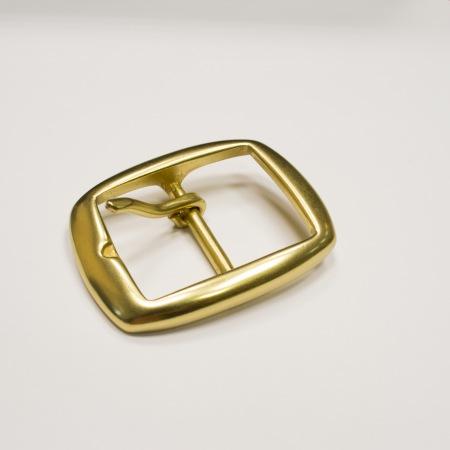 Кожа Ременная пряжка из латуни, 40 мм 011
