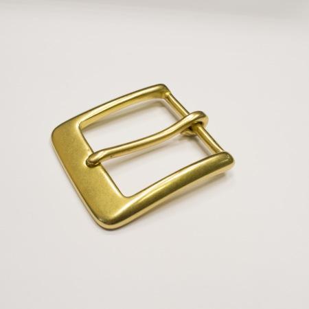 Кожа Ременная пряжка из латуни, 40 мм 014